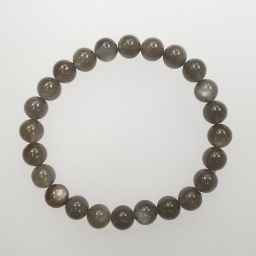 Moonstone (Grey color) 8mm Bracelet