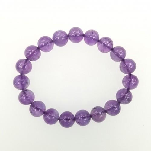 Amethyst 10mm Bracelet