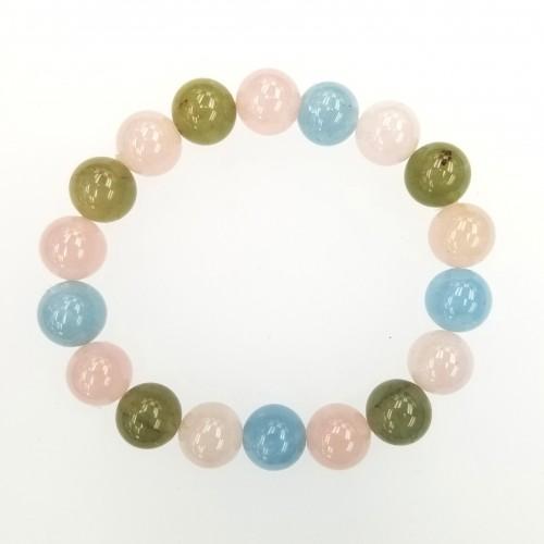 Beryl (mixed) 10mm Bracelet