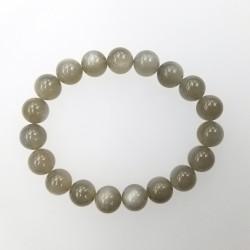Moonstone (Grey color) 10mm Bracelet
