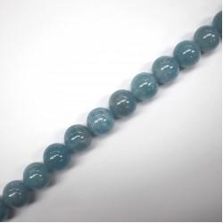 Aquamarine Blue beads 18mm