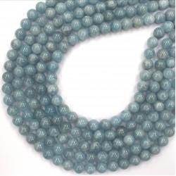 Aquamarine Blue beads 10mm