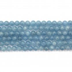 Aquamarine Blue beads 8mm