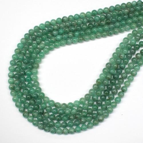 Emerald beads 6mm