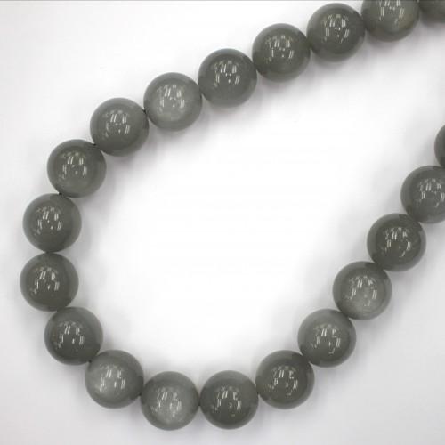 Moonstone (Grey color) Round 18mm