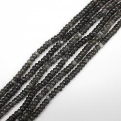 Moonstone (Black color) Roundel 6mm