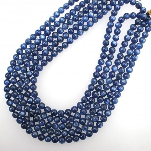 Kyanite Beads 7.5mm