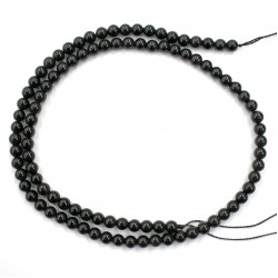 Morion Crystal Beads 4mm
