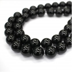 Morion Crystal Beads 16mm