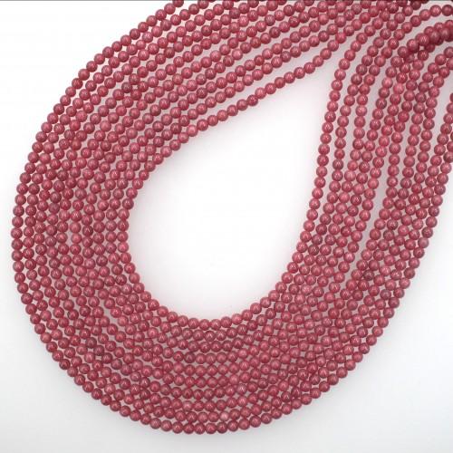 Rhodonite Beads 4mm
